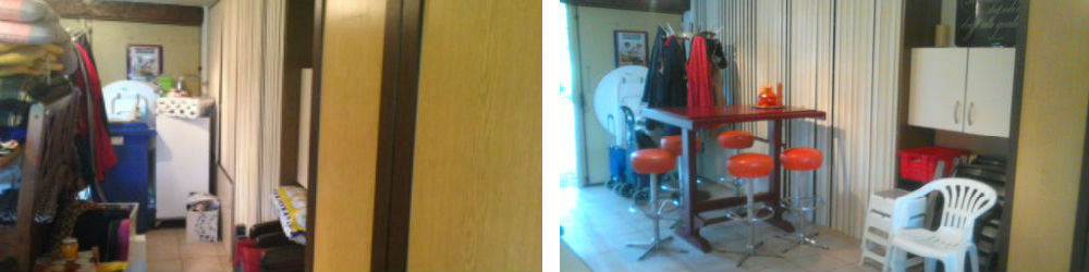 garage voor en na